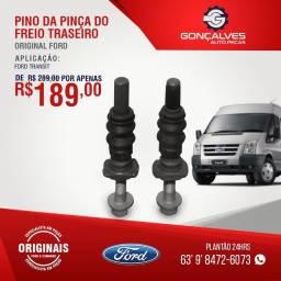 PINO DA PINÇA DO FREIO TRASEIRO ORIGINAL FORD TRANSIT
