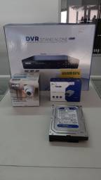 Kit Dvr 4 canais Nehc