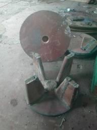 Rotores de garimpo com palhetas de molas