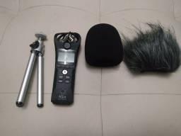 Gravador digital zoom h1n novo (frete grátis)