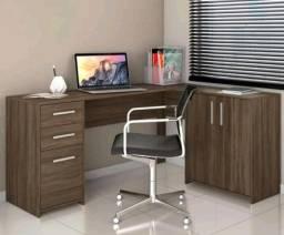 Mesa Office em L para todos os ambientes