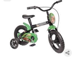 Vendo bicicleta infantil aro 12 nova