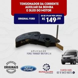 TENSIONADOR DA CORRENTE AUXILIAR DA BOMBA DE ÓLEO LUBRIFICANTE ORIGINAL FORD