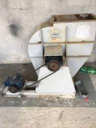 Exaustor exaustão ventilador industrial