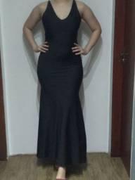 Vestido de festa preto novo