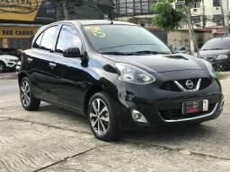 Nissan March SL 1.6 2015 Completo, Revisado Na Concessionária desde 0km