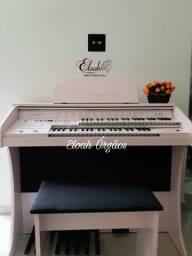 Orgão Eletrônico 2D rosa