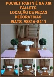 Aluguel de peças decorativas