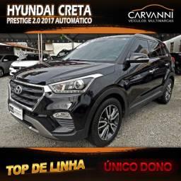 Hyundai Creta Prestige 2.0 2017 Automático - Único Dono