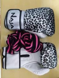 Luva de boxe Muay thai Naja - feminina