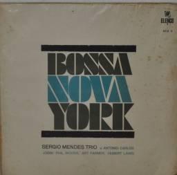 Lp - Sérgio Mendes Trio/ Bossa Nova York /elenco - Raridade