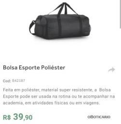 Bolsa esportiva do Boticário