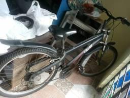 Bicicleta quadro aluminio.
