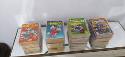 Almanaque de personagens Disney gibis coleção 90 revistas em quadrinhos hqs