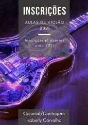 AULAS DE VIOLÃO JANEIRO!!