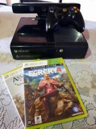 vendo Xbox 360 completo com Kinect travado