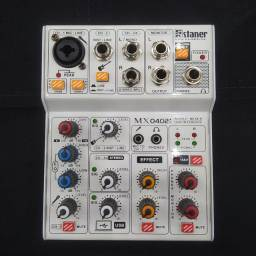 Interface de áudio Staner MX0402