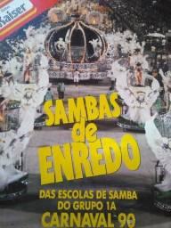LP vinil sambas de enredo grupo 1 1990