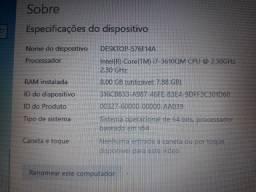 Notebook I7 com 8M e placa de vídeo! R$3000,00  TEM conversa