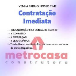 Contratação imediata - Consultor imobiliário