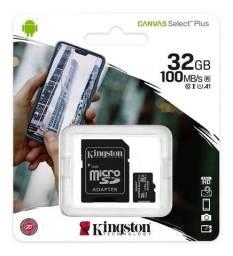 Cartão De Memória Kingston Micro Sd 32gb Para Celular Câmera