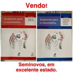 Vendo livros: Anatomia para o movimento volume 1 e 2