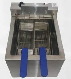 Fritadeira elétrica 220v água e óleo 18 litros 5000w