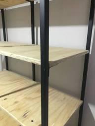 Kit closet +  estante prateleira