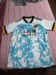 Camisa tailandesa do  Wolverhampton temporada 20/21