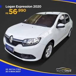Título do anúncio: Renault Logan Expression 1.6 2020 (Auto Cruz veículos)
