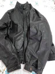 Jaqueta de couro masculina!