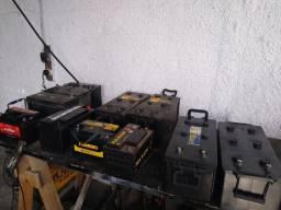 Baterias usadas para caminhão