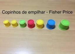 Copinhos de empilhar da Fisher Price- 7 Unidades