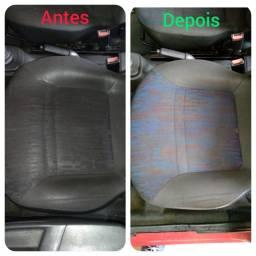 Limpeza e Higienização Interna de Carro