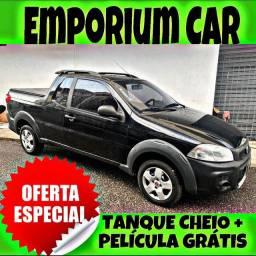 TANQUE CHEIO SO NA EMPORIUM CAR!!! FIAT STRADA 1.4 CE ANO 2016 COM MIL DE ENTRADA
