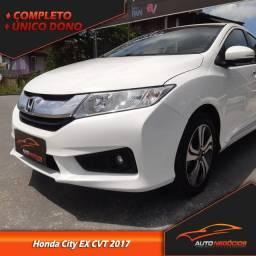 Honda City EX Cvt 1.5 2017