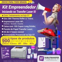 Kit Empreendedor: Iniciando no Transfer Laser III