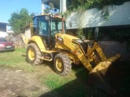 Retro Escavadeira Caterpillar 416f2