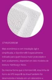 Forro isopor - forro clicado - forro modular