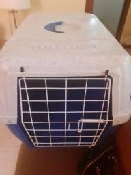 Caixade transporte Cães N2 ClickNew Azul