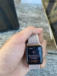Apple Watch  série 3 38 mm sem marcas de uso rose