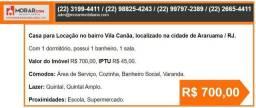 Casa em ARARUAMA R$700
