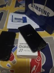 Samsung Galaxy J7 Metal c/NF na Caixa