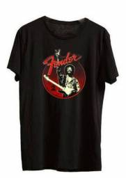 Título do anúncio: Camiseta Fender Jimmy Hendrix