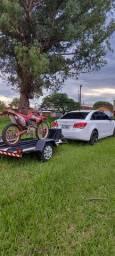 Vendo crf 230 moto top toda revisada
