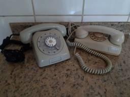 Título do anúncio: Telefones antigos de disco