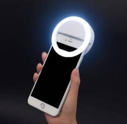 Ring Light para celular Smartphone Android / iPhone Ios para melhores Fotos e mais Brilho