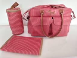 Bolsa Maternidade Master Bag vermelha