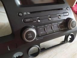 Rádio original Honda Civic. 2007/2011 com code