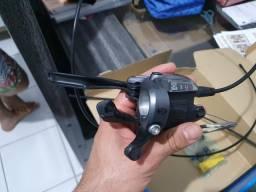 Kit Shimano alívio M4050 passadores + freio hidráulico